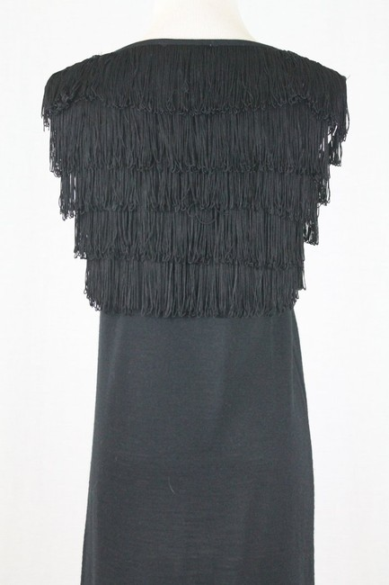 Paul & Joe Flapper Sweater Shift Shift Fringed Dress Image 6