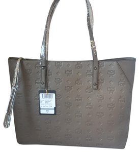 mcm Tote in urban taupe