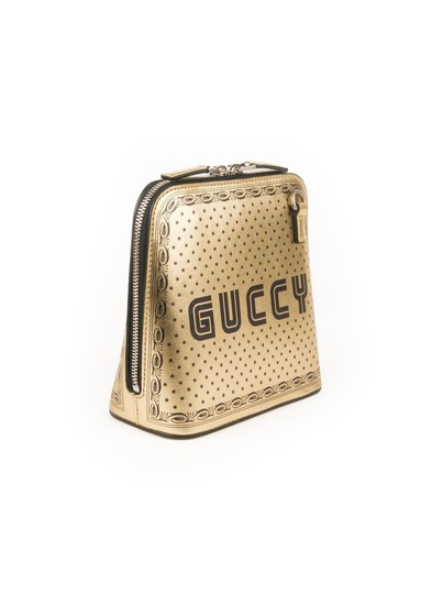 Preload https://img-static.tradesy.com/item/24196405/gucci-dome-script-metallic-gold-leather-cross-body-bag-0-0-540-540.jpg