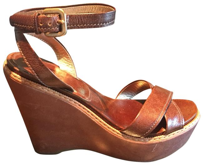 Item - Brown Vit Shine Nocciola Wedges Platforms Size EU 39.5 (Approx. US 9.5) Regular (M, B)