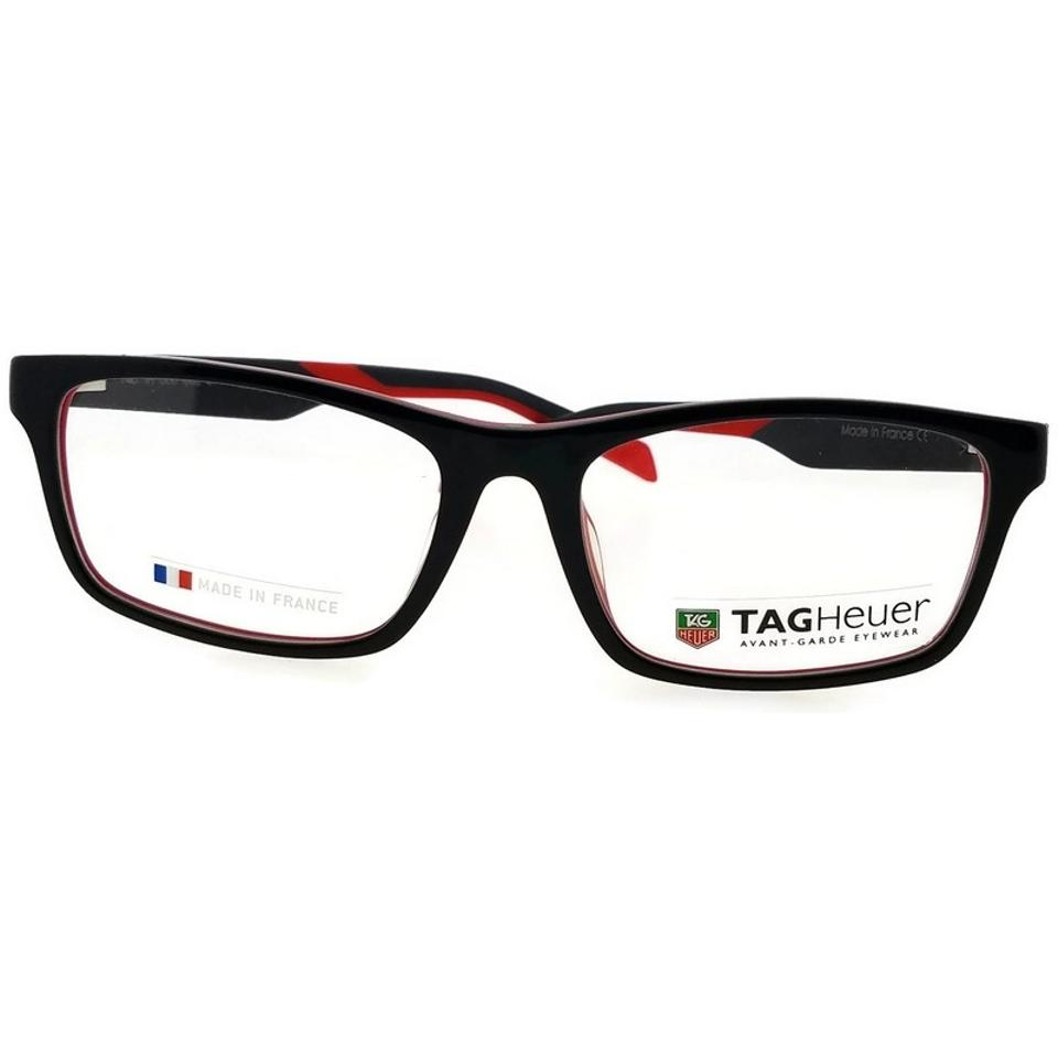TAG Heuer Black Th0555-002-57 Men\'s Frame with Clear Lens Genuine ...
