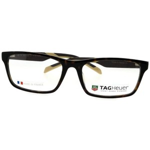 TAG Heuer TH0555-003-57 Women's Black Frame With Clear Lens Genuine Eyeglasses