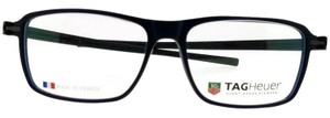 TAG Heuer TH3952-055-58 Unisex Black Frame With Clear Lens Genuine Eyeglasses