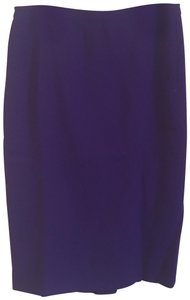 Brioni New Newskirt Nwot Purplewool Skirt purple
