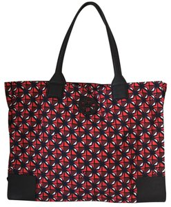 Tory Burch Tote in collage geo