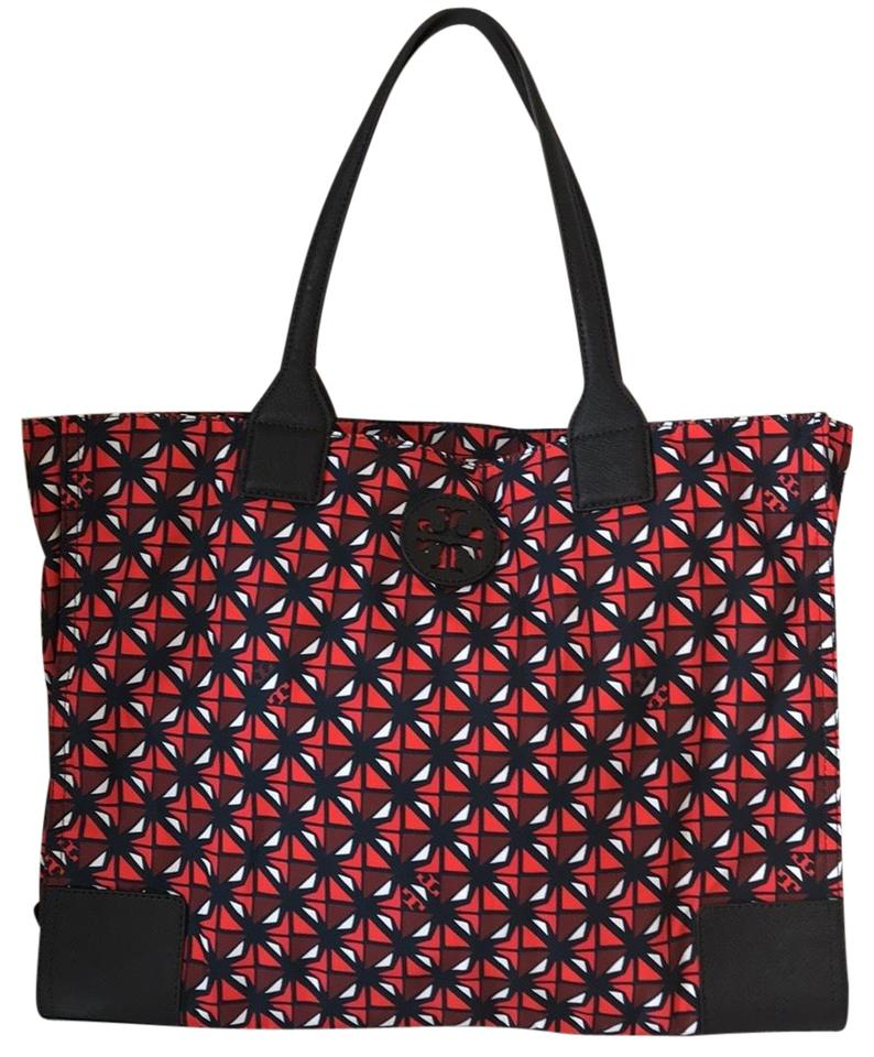 218303dfe2668 Tory Burch Ella Printed Packable Collage Geo Tote - Tradesy