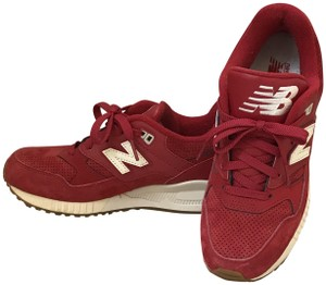 New Balance Lux Suede Stylish Breathable Retro Red Envy Athletic