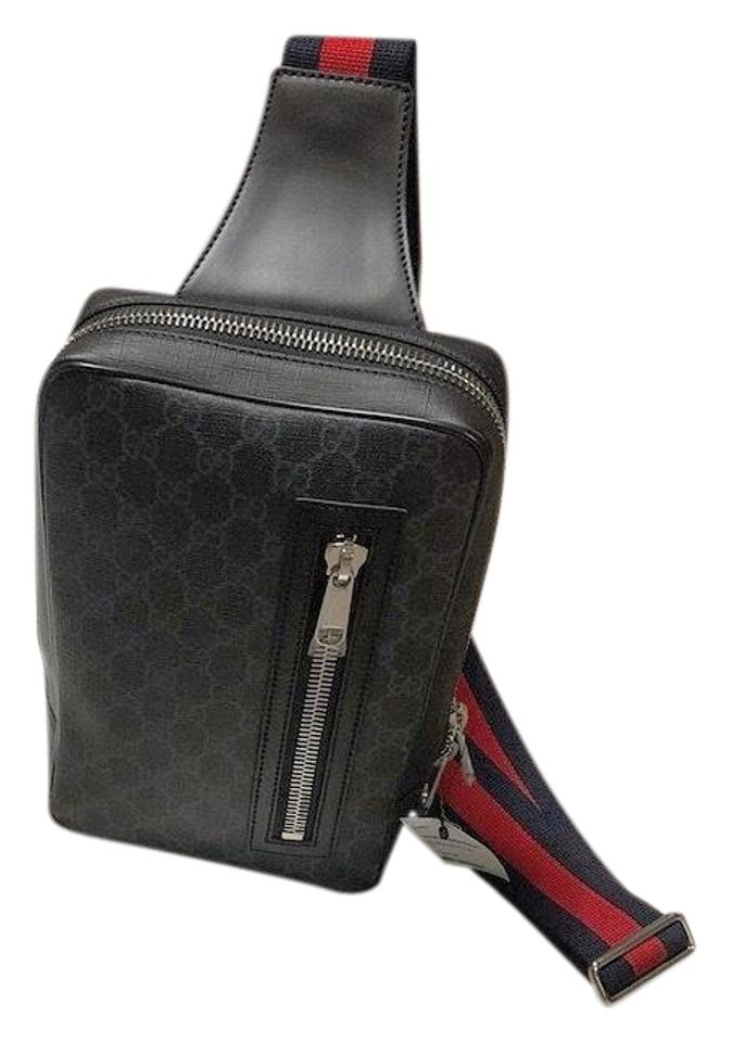 c7231615bcb6e2 Gucci Supreme Sling Backpack Cross Body Bag - Tradesy