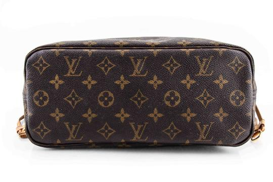 Louis Vuitton Leather Tote in Brown Image 4