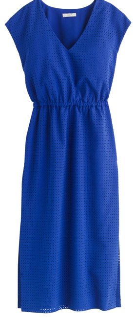 Preload https://img-static.tradesy.com/item/24197193/jcrew-royal-blue-perforated-draped-mid-length-workoffice-dress-size-6-s-0-1-650-650.jpg