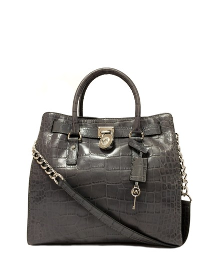 Preload https://img-static.tradesy.com/item/24197235/michael-michael-kors-hamilton-crocodile-embossed-grey-leather-satchel-0-0-540-540.jpg