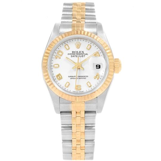 Rolex Rolex Datejust 26 Steel Yellow Gold White Dial Ladies Watch 79173 Image 1