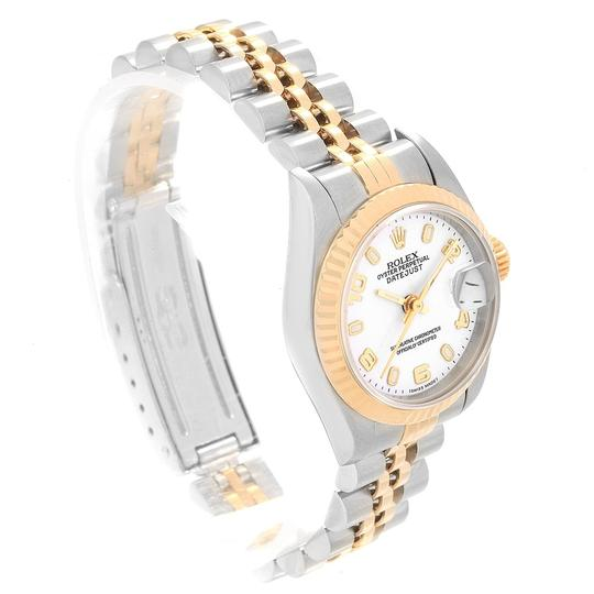 Rolex Rolex Datejust 26 Steel Yellow Gold White Dial Ladies Watch 79173 Image 2