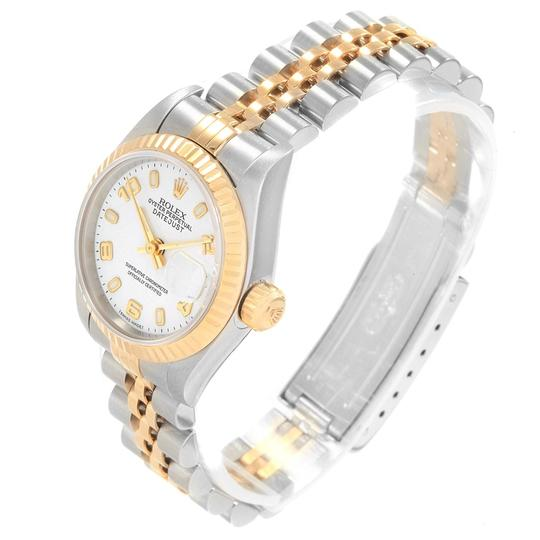Rolex Rolex Datejust 26 Steel Yellow Gold White Dial Ladies Watch 79173 Image 3