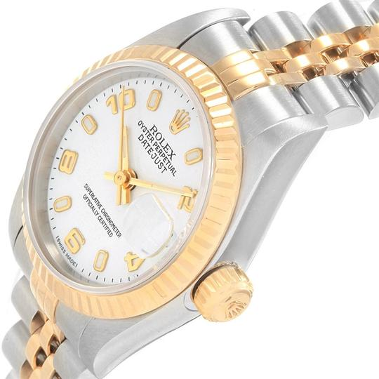 Rolex Rolex Datejust 26 Steel Yellow Gold White Dial Ladies Watch 79173 Image 4