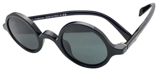 Preload https://img-static.tradesy.com/item/24197348/dolce-and-gabbana-new-dolce-and-gabbana-4303-50187-39-24-round-black-frame-w-grey-lenses-50187-sungl-0-1-540-540.jpg