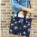 Tory Burch Floral Tote New With Tag Cross Body Bag Image 1