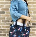 Tory Burch Floral Tote New With Tag Cross Body Bag Image 11