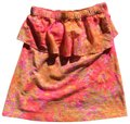 Lilly Pulitzer Top Neon Orange and Hot Pink Image 0