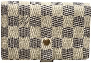 Louis Vuitton Louis Vuitton Damier Azur French Purse Wallet