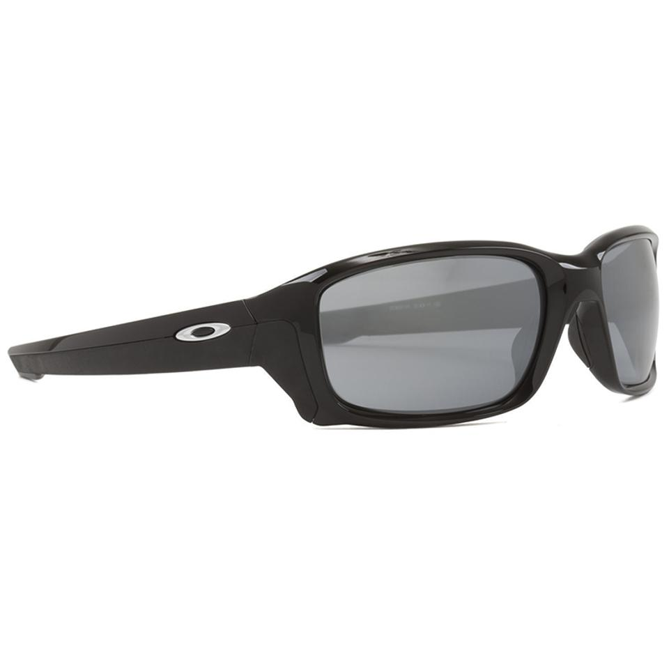 2f75230da0 Oakley Polished Black Straightlink Unisex Oo9331-01 Iridium Lens Sunglasses