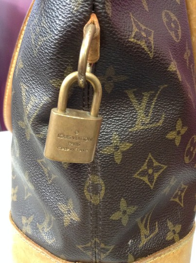 Louis Vuitton Monogram Leather Tote in Brown Image 5