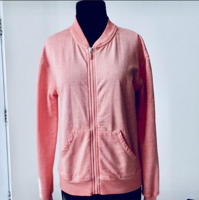 Nordstrom Bomber Sweetheart Fall Winter Light Pink Jacket Image 1