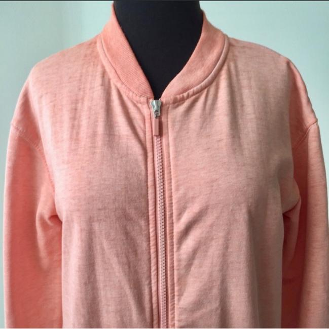 Nordstrom Bomber Sweetheart Fall Winter Light Pink Jacket Image 2