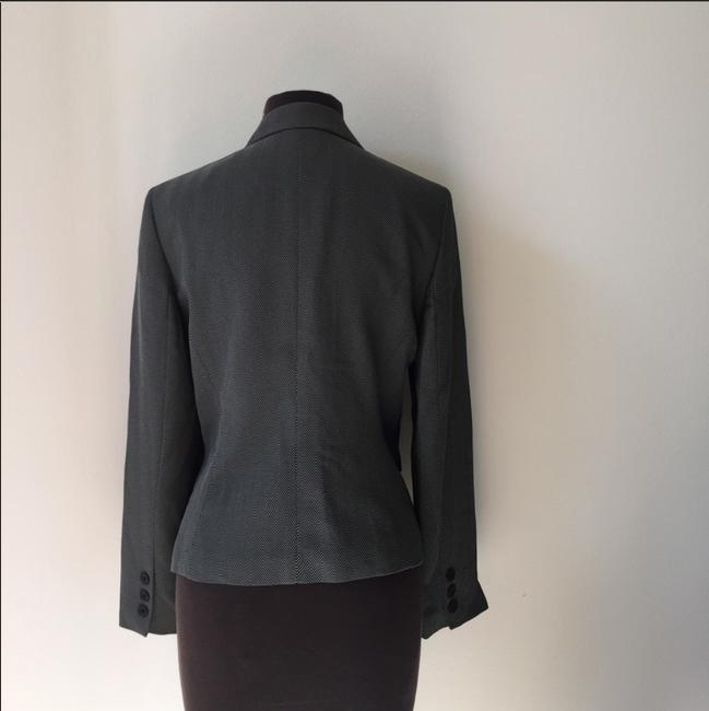 Jones New York Jacket Fall Winter Grey Blazer Image 2