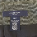 Jones New York Jacket Fall Winter Grey Blazer Image 3