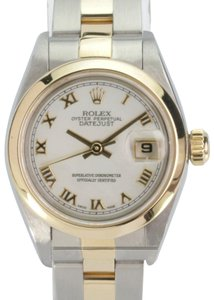 Rolex Rolex Lady Datejust 69163 White MOP Dial Smooth Bezel w/Box & Papers