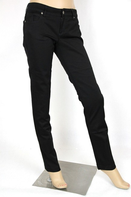 Gucci Womens 70s Jeans Skinny Pants Black Image 1
