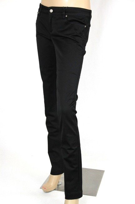 Gucci Womens 70s Jeans Skinny Pants Black Image 2