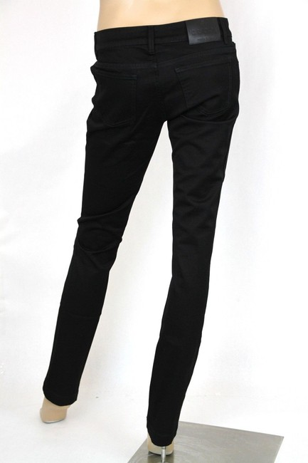 Gucci Womens 70s Jeans Skinny Pants Black Image 3