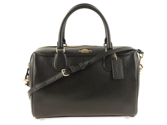 Preload https://img-static.tradesy.com/item/24197896/coach-bennet-convertible-black-leather-satchel-0-2-540-540.jpg