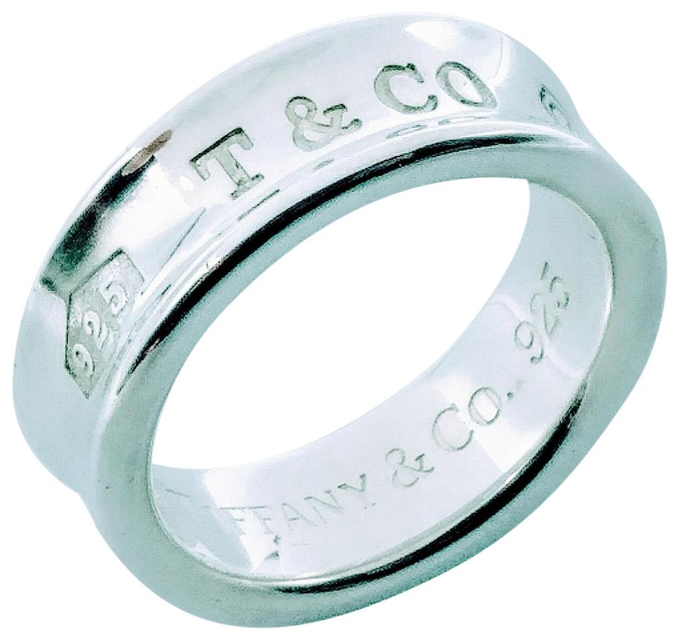 5997d8765 Tiffany & Co. 1837 T&Co. 925 sterling silver ring size 6 Image 0 ...