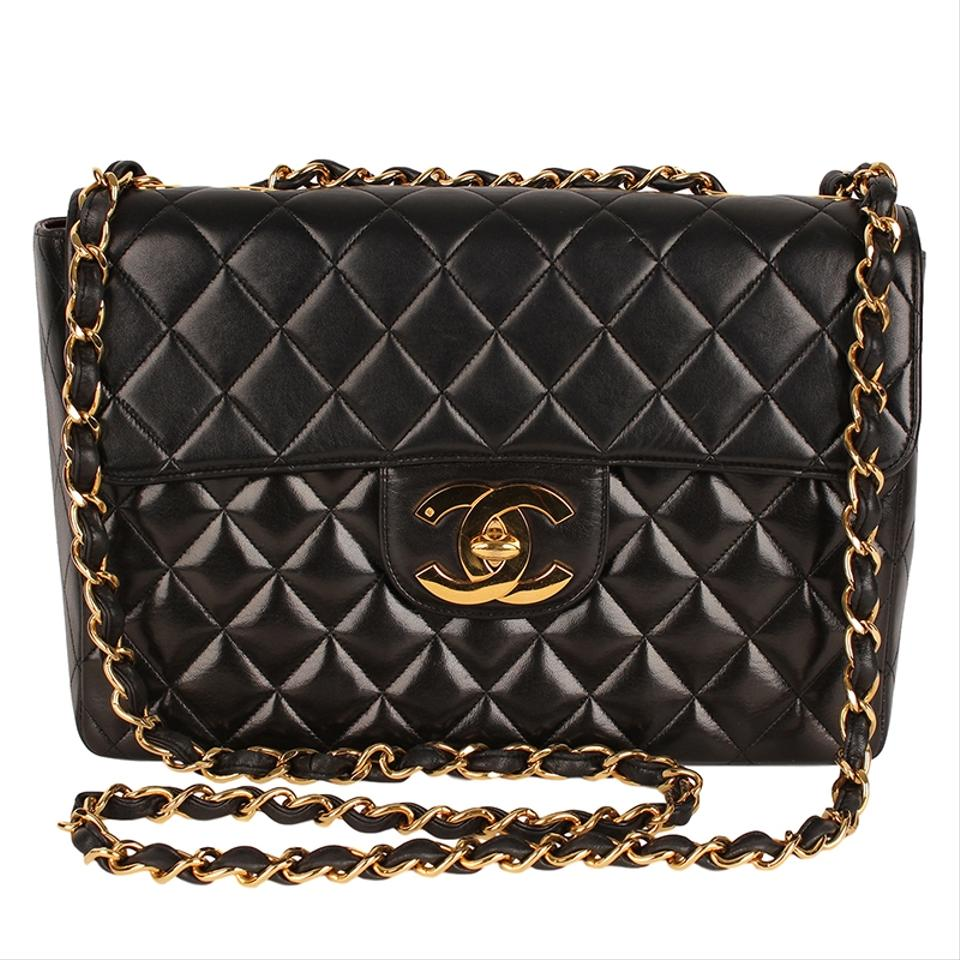 Chanel Lambskin Quilted Vintage Classic Cross Body Bag