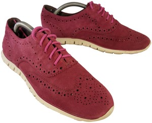 Cole Haan Woman Size 9 B burgundy red Athletic