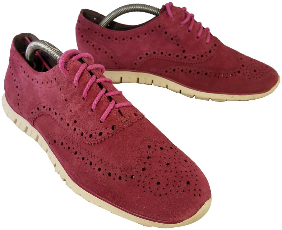 13953c4d43 Cole Haan Burgundy Red Women's Zerogrand Oxford with Stitchlite - B ...