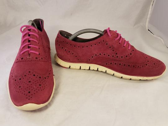 Cole Haan Woman Size 9 B burgundy red Athletic Image 3