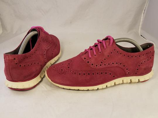 Cole Haan Woman Size 9 B burgundy red Athletic Image 4