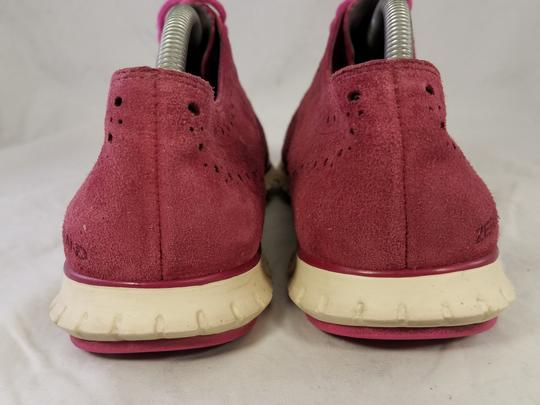 Cole Haan Woman Size 9 B burgundy red Athletic Image 5