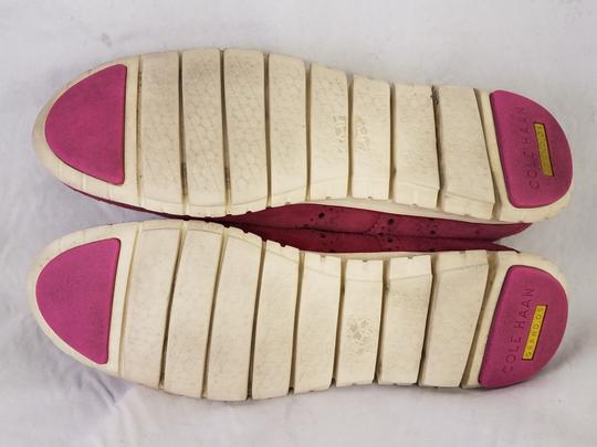Cole Haan Woman Size 9 B burgundy red Athletic Image 6