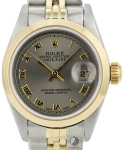 Rolex Rolex Lady Datejust Grey Dial Smooth Bezel 26mm ALL Original Watch