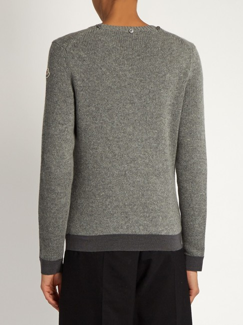 Moncler Classic Cable Knit Sweater Image 1