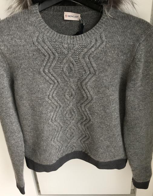 Moncler Classic Cable Knit Sweater Image 3