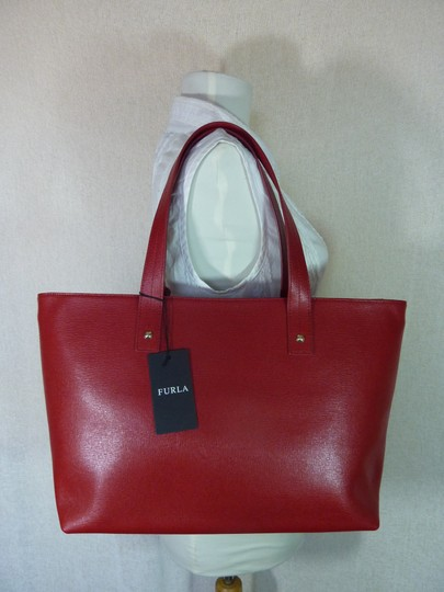 Furla Tote in Red Image 4