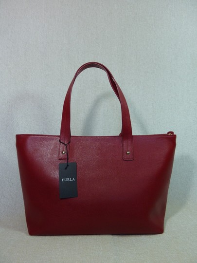 Furla Tote in Red Image 6