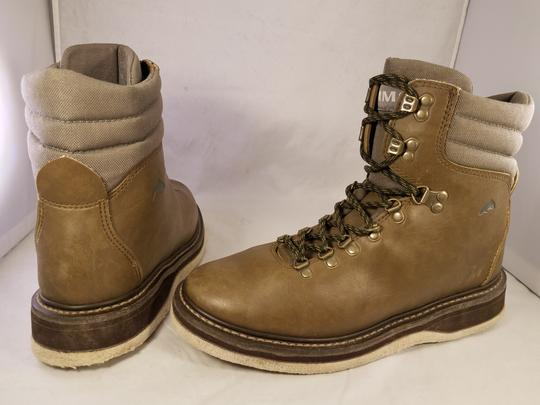 simms Wading Fishing Man Outdoors brown ( taupe) Boots Image 5