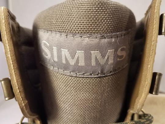 simms Wading Fishing Man Outdoors brown ( taupe) Boots Image 8
